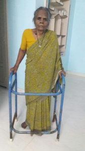 Rosammal, one of our first older residents for Brighter Life