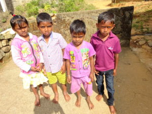 Children from the Cardomom Hills region